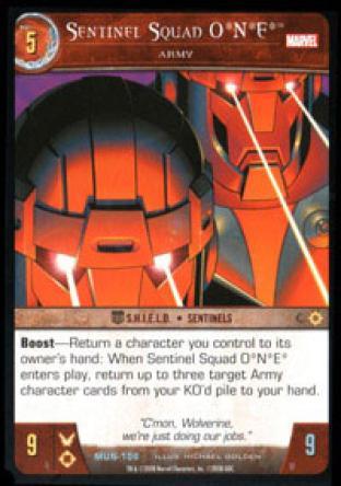 Sentinel Squad ONE, Army