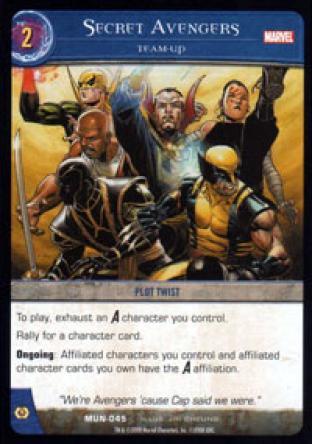 Secret Avengers, Team-Up