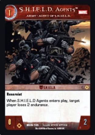 S.H.I.E.L.D. Agents, Army - Agent of S.H.I.E.L.D.