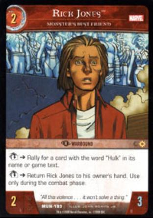 Rick Jones, Monster's Best Friend