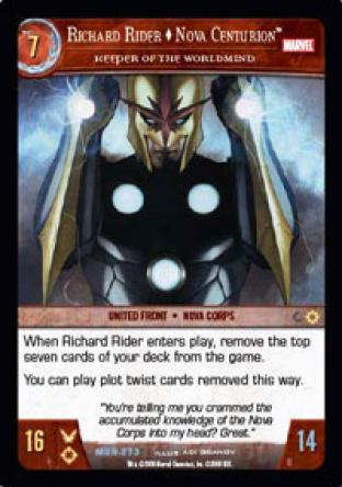 Richard Rider, Nova Centurion, Keeper of the Worldmind