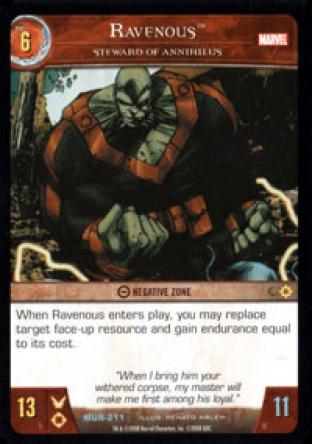 Ravenous, Steward of Annihilus