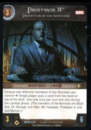 Professor X, Protector of the Mind Gem