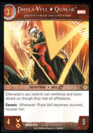 Phyla-Vell, Quasar, Protector of the Universe