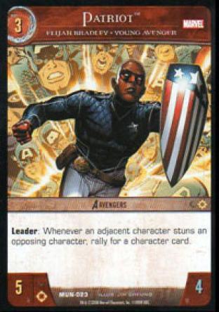Patriot, Elijah Bradley - Young Avenger