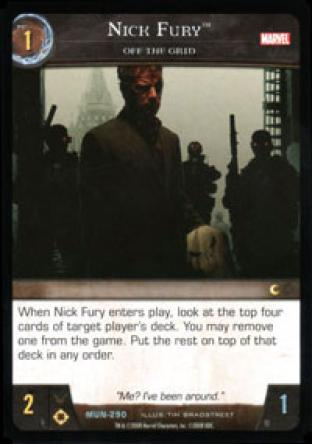 Nick Fury, Off the Grid