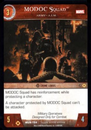 MODOC Squad, Army - A.I.M.