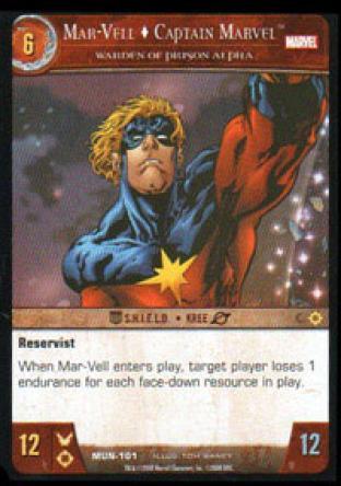 Mar-Vell, Captain Marvel, Warden of Prison Alpha