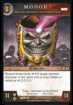 M.O.D.O.K., Mobile Organism Designed Only for Killing - A.I.M.