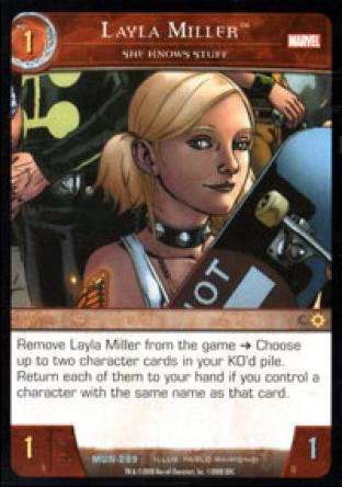 Layla Miller, She Knows Stuff