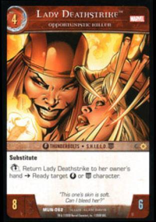 Lady Deathstrike, Opportunistic Killer