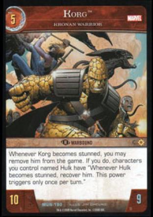 Korg, Kronan Warrior