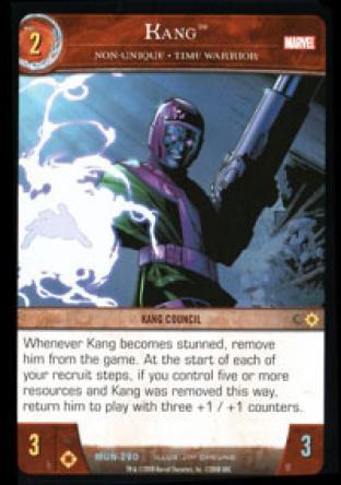 Kang, Non-Unique - Time Warrior