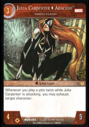 Julia Carpenter, Arachne, Omega Flight