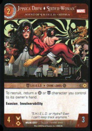 Jessica Drew , Spider-Woman, Agent of S.H.I.E.L.D. - HYDRA