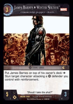James Barnes, Winter Soldier, Communist Puppet - Raid