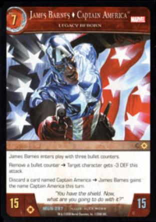 James Barnes, Captain America, Legacy Reborn