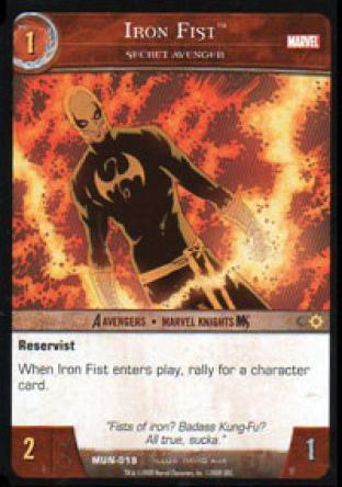 Iron Fist, Secret Avenger