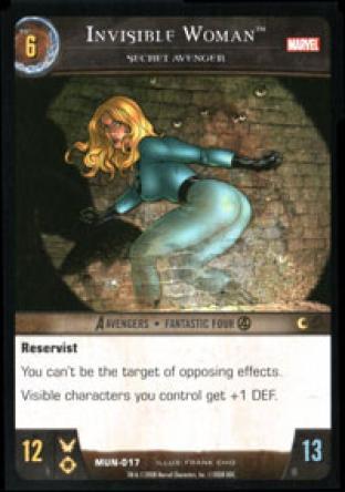 Invisible Woman, Secret Avenger