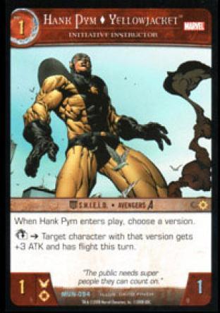 Hank Pym, Yellowjacket, Initiative Instructor