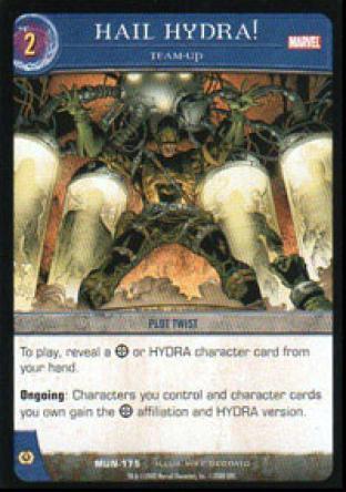 Hail Hydra!, Team-Up