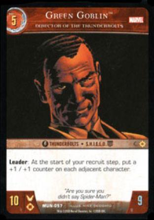Green Goblin, Director of the Thunderbolts