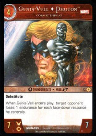 Genis-Vell, Photon, Cosmic Threat