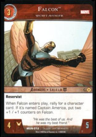 Falcon, Secret Avenger