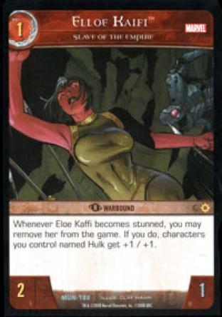 Elloe Kaifi, Slave of the Empire
