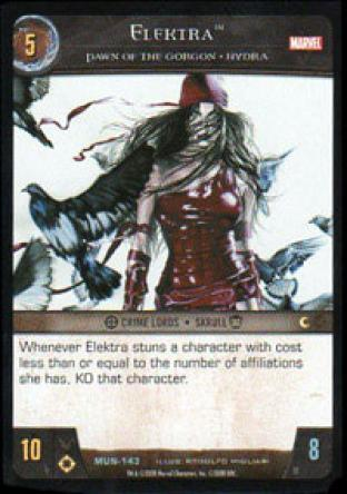 Elektra, Pawn of the Gorgon - HYDRA