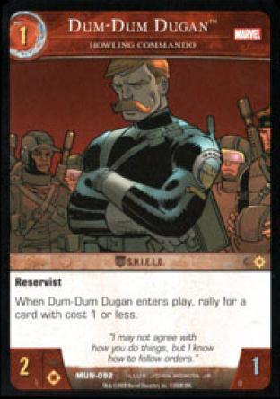 Dum-Dum Dugan, Howling Commando
