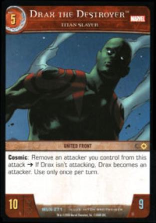 Drax the Destroyer, Titan Slayer