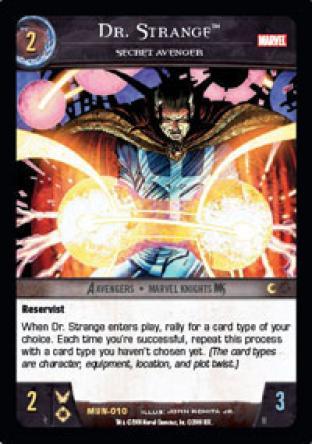 Dr. Strange, Secret Avenger