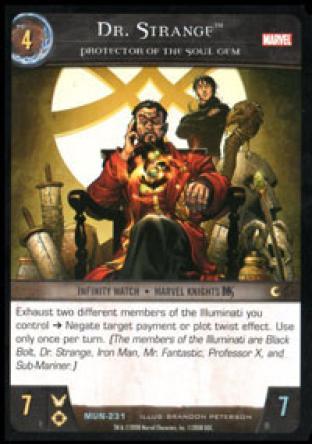 Dr. Strange, Protector of the Soul Gem