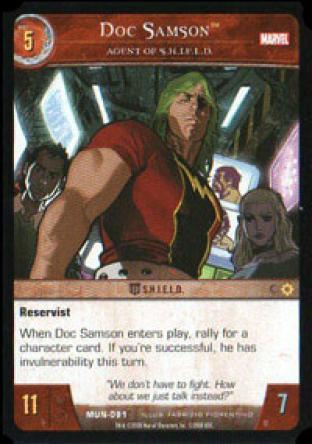 Doc Samson, Agent of S.H.I.E.L.D.
