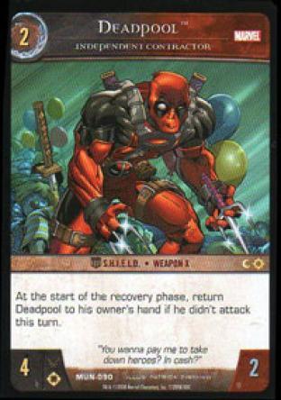 Deadpool, Independant Contractor