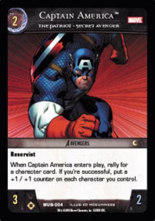 Captain America, The Patriot - Secret Avenger