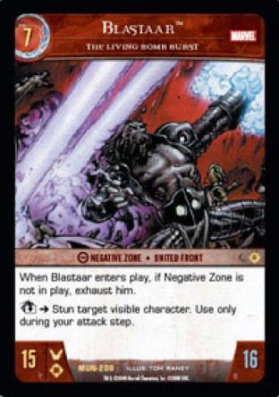 Blastaar, The Living Bomb Burst