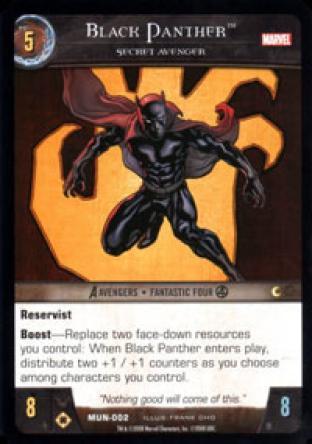 Black Panther, Secret Avenger