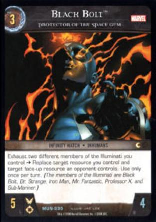 Black Bolt, Protector of the Space Gem