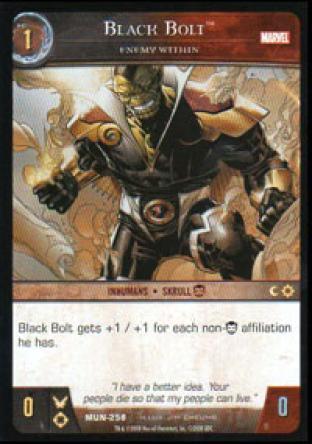 Black Bolt, Enemy Within