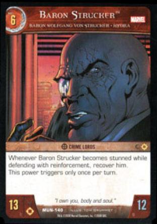 Baron Strucker, Baron Wolfgang von Strucker - HYDRA