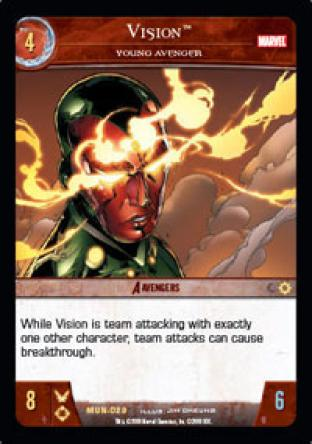 Vision, Young Avenger
