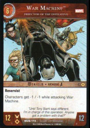 War Machine, Director of the Initiative