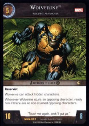 Wolverine, Secret Avenger