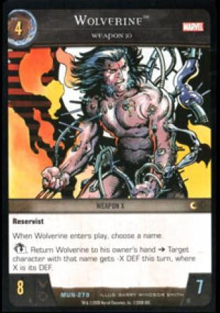 Wolverine, Weapon 10