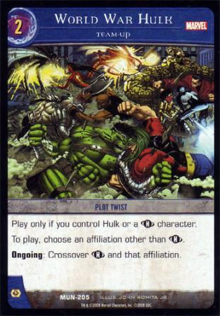 World War Hulk, Team-Up