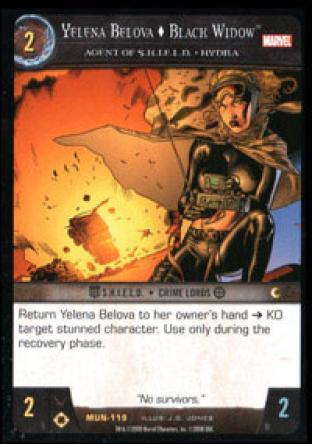 Yelena Belova, Black Widow, Agent of S.H.I.E.L.D. - HYDRA