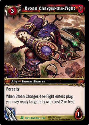 Broan Charges-the-Fight