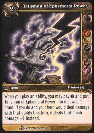 Talisman of Ephemeral Power
